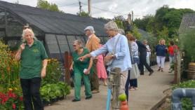 Wiltshire Gardens Trust visit to Downside Nurseries