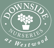 Downside nurseries mobile logo