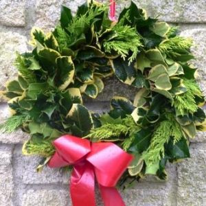 Christmas Wreaths at Downside